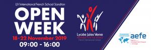 OPEN WEEK - Lycée Jules Verne   Johannesburg @ Lycée Jules Verne